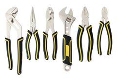 Variety of tools Stock Photo