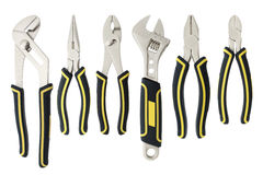 Variety of tools Stock Photos
