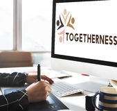 Variety Unity Treatment Togetherness Graphic Concept Royalty Free Stock Photography
