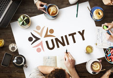 Variety Unity Treatment Togetherness Graphic Concept Stock Image