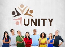 Variety Unity Treatment Togetherness Graphic Concept. Diversity Unity Teamwork Togetherness Collaboration Royalty Free Stock Photo