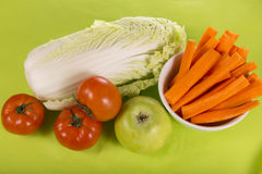A variety of useful vegetables Stock Images
