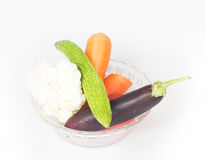 Variety of vegetables Stock Photography