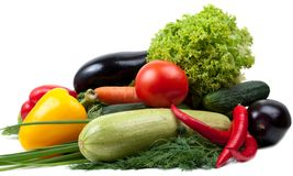 Variety of vegetables; colorful Stock Photography