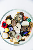 Variety of vintage buttons Royalty Free Stock Images