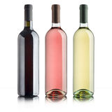 Variety of wines Royalty Free Stock Photography