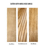 Variety of wood samples Royalty Free Stock Photos