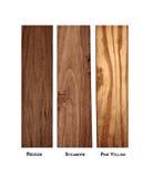 Variety of wood samples Royalty Free Stock Image