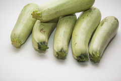 Variety of zucchini Royalty Free Stock Images
