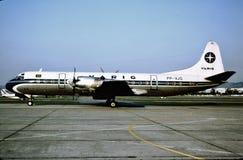Varig Lockheed L-188A Electra PP-VJO 2 de octubre de 1983 Fotografía de archivo libre de regalías