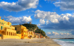 Varigotti beach Royalty Free Stock Images