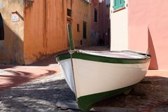 Varigotti, colorful village in Liguria, Italy Stock Images