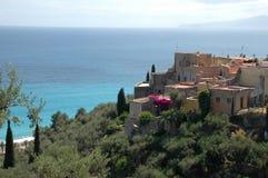 Varigotti, Riviera italiana, Italia Fotografía de archivo