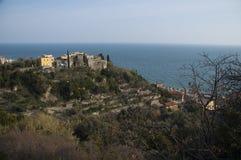 Varigotti, Riviera italiana, Italia Fotos de archivo