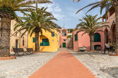 Varigotti in Western Liguria. Varigotti, a little village in Western Liguria royalty free stock images