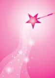 Varinha cor-de-rosa Fotos de Stock Royalty Free