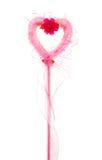 Varinha mágica cor-de-rosa Foto de Stock Royalty Free