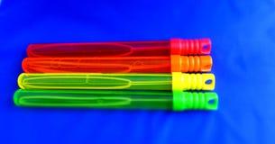Varinhas/varas da bolha Foto de Stock