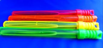 Varinhas/varas da bolha Imagens de Stock