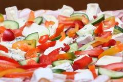 Vario alimento Fotografia Stock