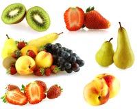 Vario de las frutas frescas del jiucy foto de archivo