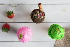 Vario gelato Fotografia Stock Libera da Diritti