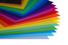 Vario papel del color imagen de archivo