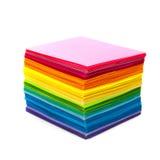 Vario papel del color fotos de archivo libres de regalías