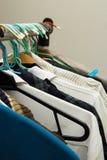 Vario tipo di vestiti Fotografie Stock Libere da Diritti