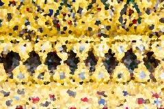 Variopinto cristallizzi la struttura Fotografie Stock Libere da Diritti