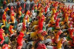 Variopinto dei polli Immagine Stock