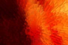 Variopinto del fondo astratto del blocco 3D Fotografia Stock