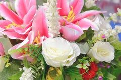 Variopinto del mazzo del fiore Fotografia Stock