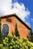 Variopinto della casa italiana di stile fotografia stock libera da diritti