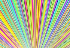 Variopinto della linea fili, illustrazione 3d Immagini Stock