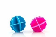 Variopinto della palla di lavaggio Immagine Stock