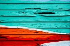 Variopinto di legno per fondo Fotografia Stock Libera da Diritti