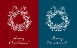 varios χαιρετισμού συλλογής Χριστουγέννων καρτών Στοκ Φωτογραφία