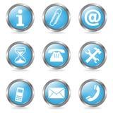 Varios botones Foto de archivo libre de regalías