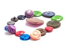 Varios botones Foto de archivo