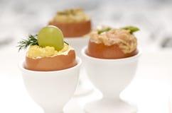 Varios egg los aperitivos Imagenes de archivo
