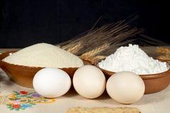 Varios huevos del pollo Fotos de archivo libres de regalías