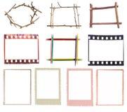 Varios marcos imágenes de archivo libres de regalías