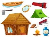 Varios objetos stock de ilustración