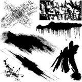 Varios objetos de Grunge Imagen de archivo libre de regalías