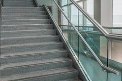 Varios pasos de las escaleras del granito Imagen de archivo libre de regalías