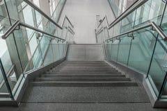 Varios pasos de las escaleras del granito Fotografía de archivo libre de regalías