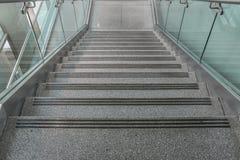 Varios pasos de las escaleras del granito Imágenes de archivo libres de regalías