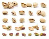 Varios pistachos Imagen de archivo