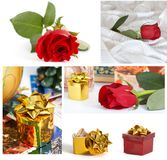 Varios presentes Fotografía de archivo libre de regalías